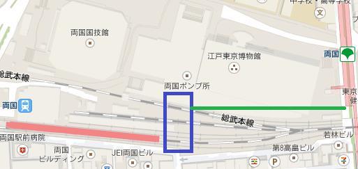 両国駅地図2