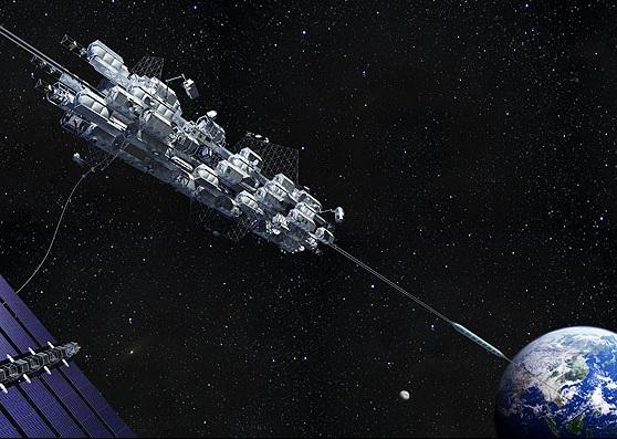 宇宙エレベータ建設が日本の未来を切り開く
