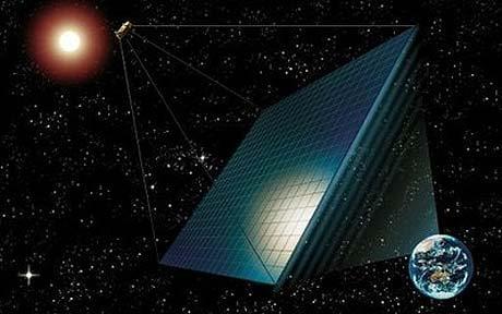 宇宙エレベータ建設のメリットと宇宙太陽光発電