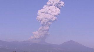 新燃岳の爆発的噴火がかなりヤバい件【巨大地震の前触れか?】